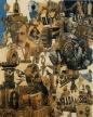 """Hannah Höch. German, 1889-1978 Cut with the Kitchen Knife through the Last Weimar Beer-Belly Cultural Epoch in Germany (Schnitt mit dem Küchenmesser durch die letzte Weimarer Bierbauchkulturepoche Deutschlands). 1919-1920 Photomontage and collage with watercolor, 44 7/8 x 35 7/16"""" (114 x 90 cm) Staatliche Museen zu Berlin, Nationalgalerie © 2006 Bildarchiv Preussischer Kulturbesitz, Berlin, © 2006 Hannah Höch / Artists Rights Society (ARS), New York / VG Bild-Kunst, Bonn, photo: Jörg P. Anders, Berlin"""
