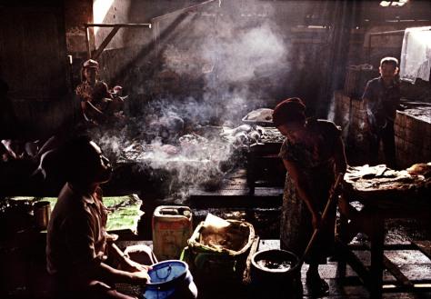 INDONESIA. Jakarta. 1989. Fish market.